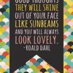 Inspiration from Roald Dahl