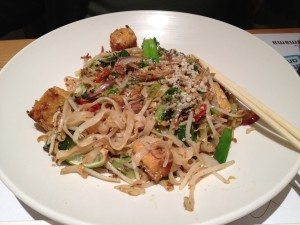 Vegetarian Pad Thai at Wagamama