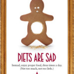 Diets are sad – and don't work