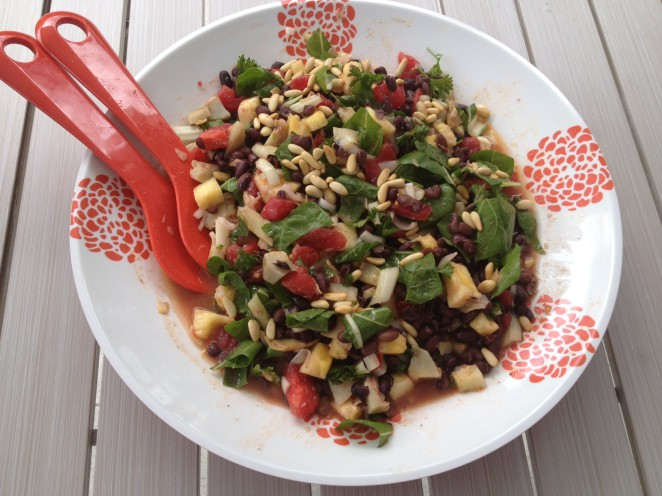 Bean salad1