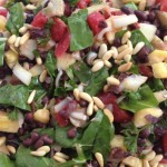 Black Bean Salad + Plant Protein