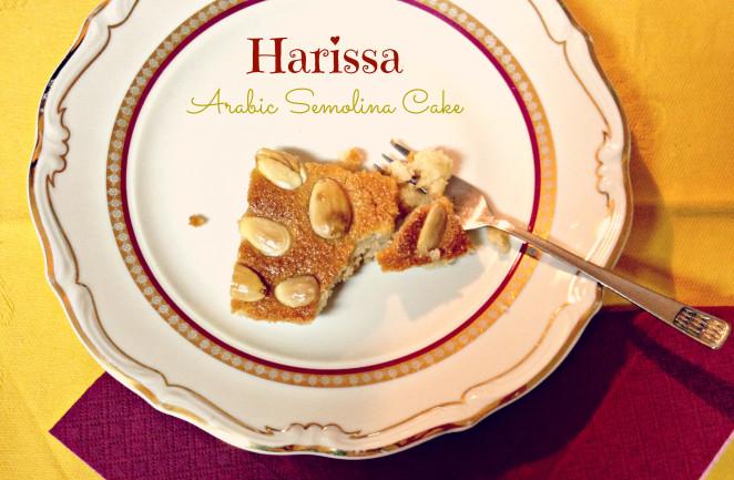 Harisa: Arabic Semolina Cake
