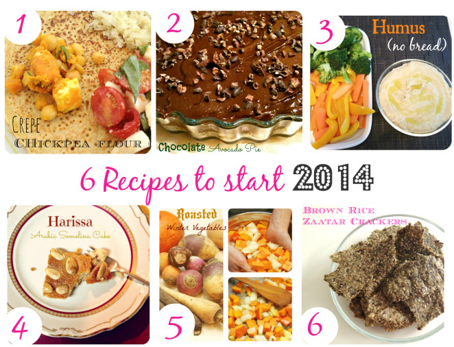 6 recipes for 2014