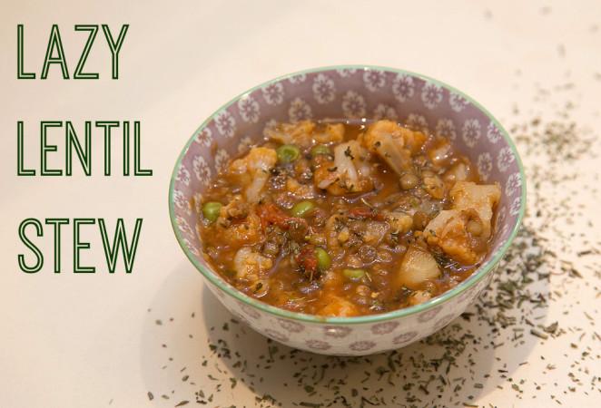 Lazy Lentil Stew
