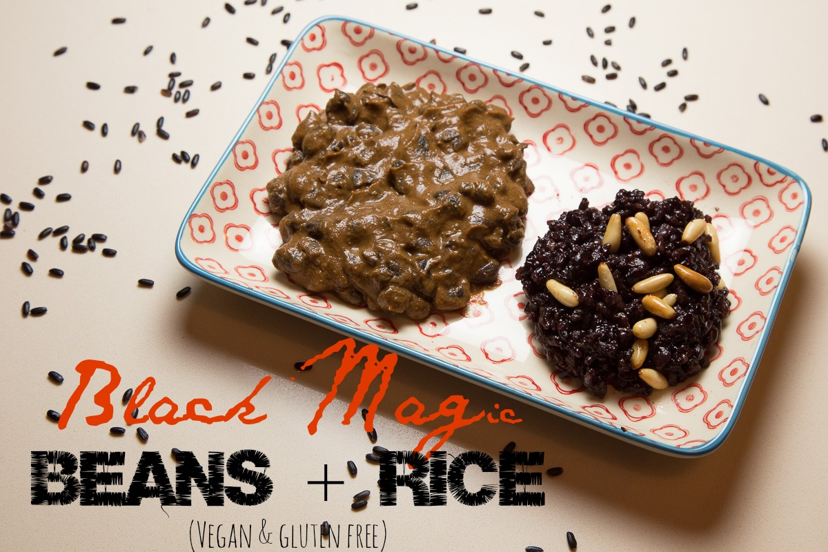 Black Magic Beans + Rice