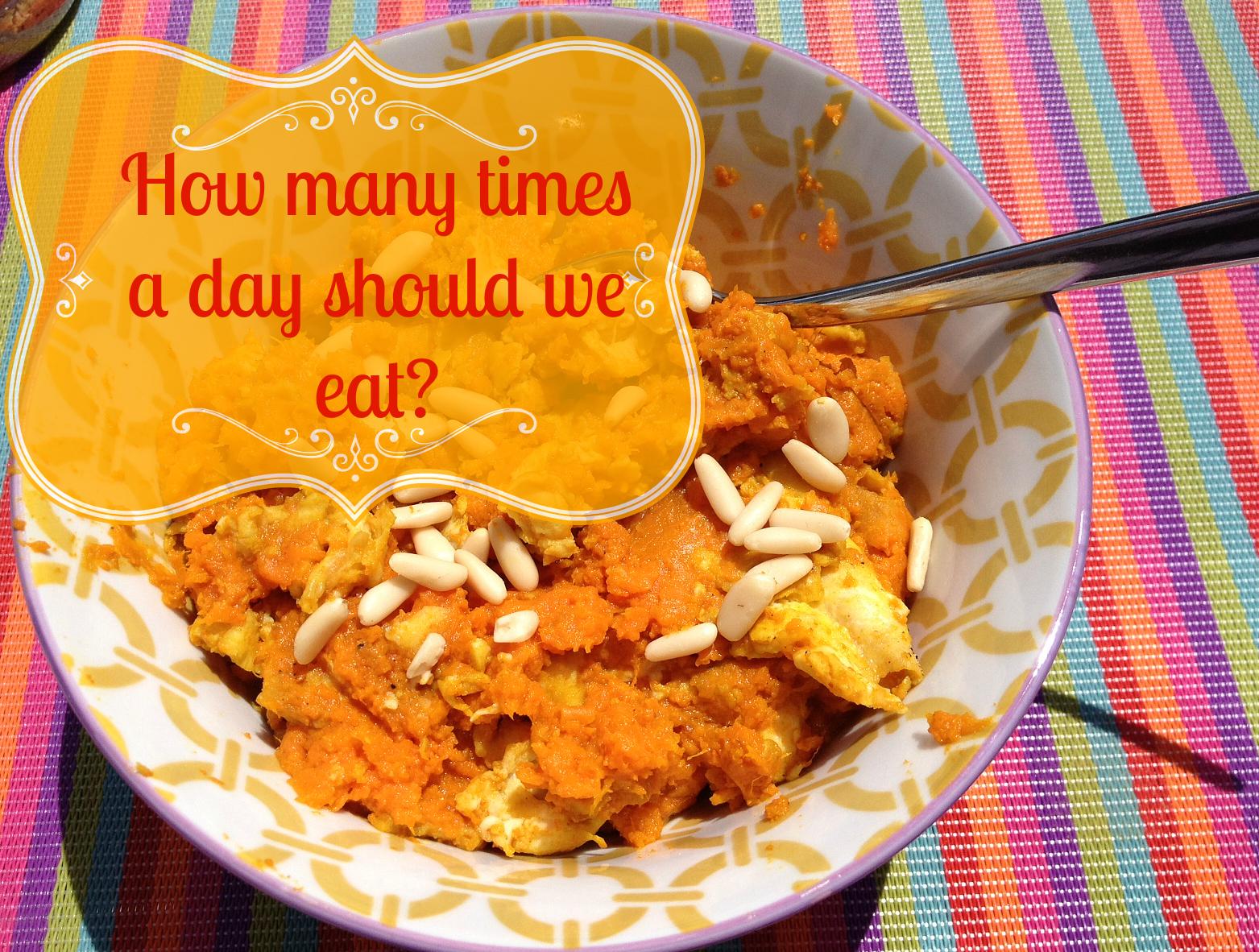 How often should we eat