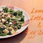 Lamb's Lettuce & Egg Salad  + Egg Love