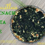 Crustless Spinach Feta Pie