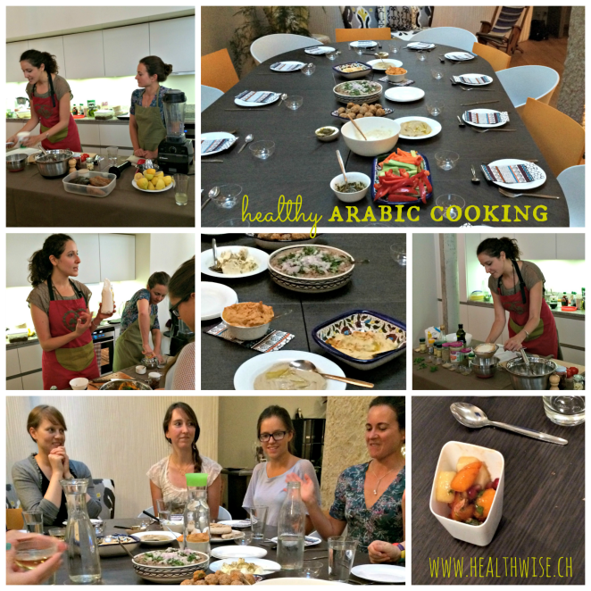 Healthy Arabic Cooking Class Geneva