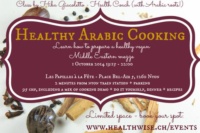 Arabic Cooking Class Nyon