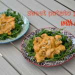 Sweet Potato Gnocchi with Red Pesto
