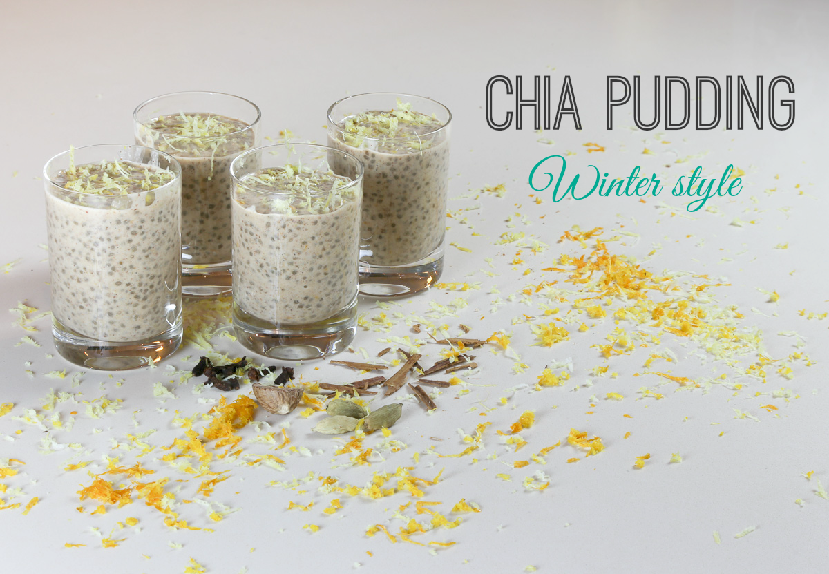 Chia Pudding, winter style