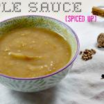 Healthy Apple Sauce – Spiced Up