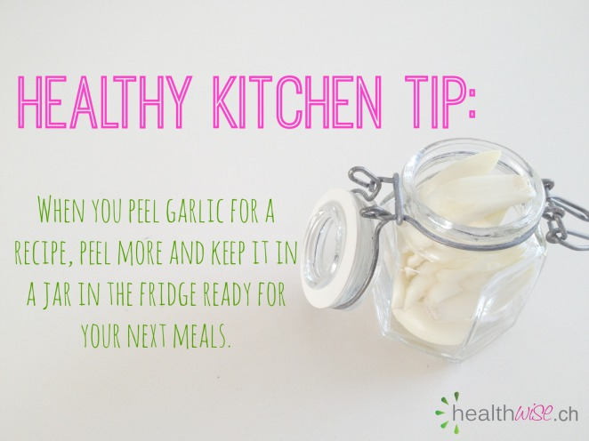 garlic tip