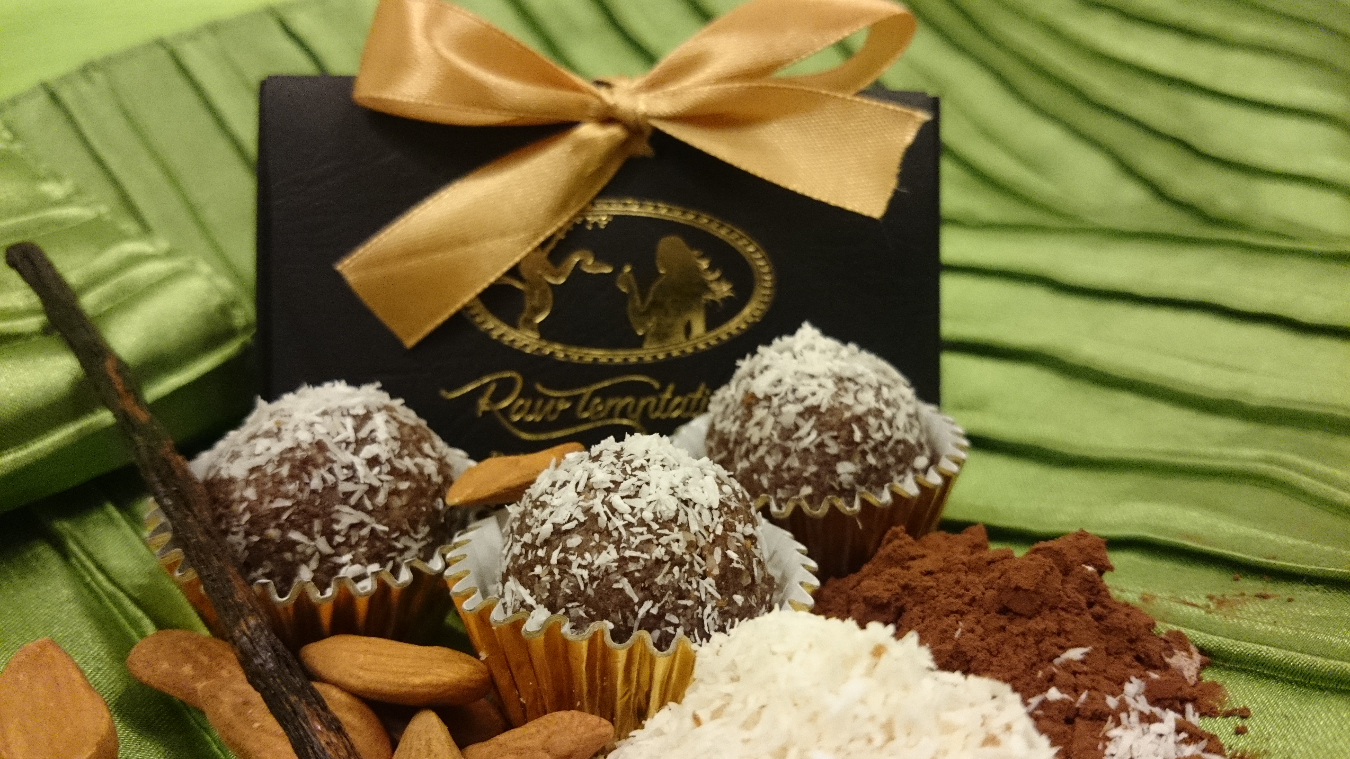 Raw Temptation Truffles