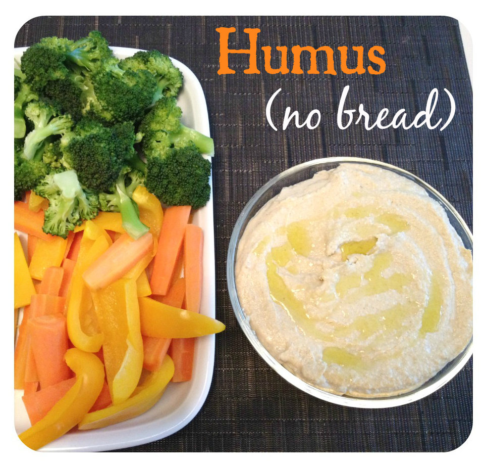 humus no bread
