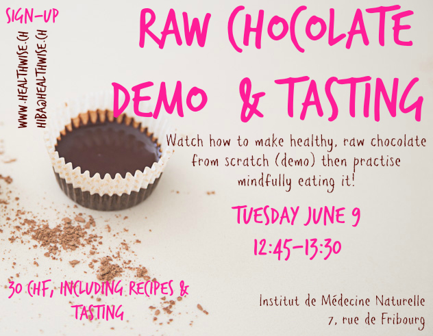 raw chocolate demo June