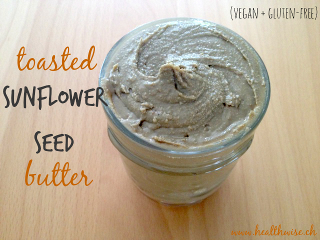 toasted sunflower seed butter