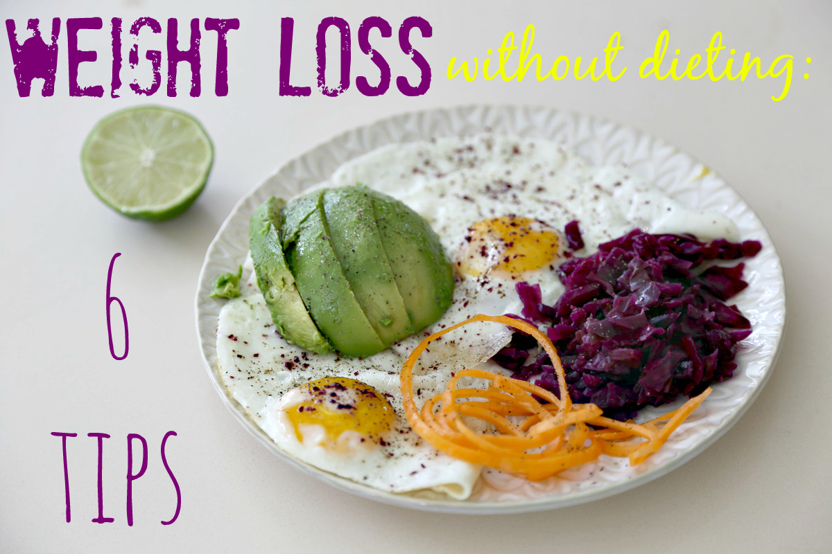 weight loss without dieting tips