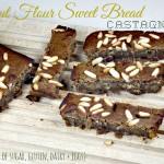 Chestnut Flour Sweet Bread or Castagnaccio