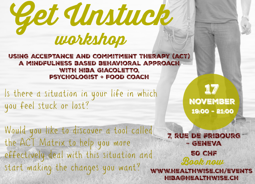 Get Unstuck Workshop