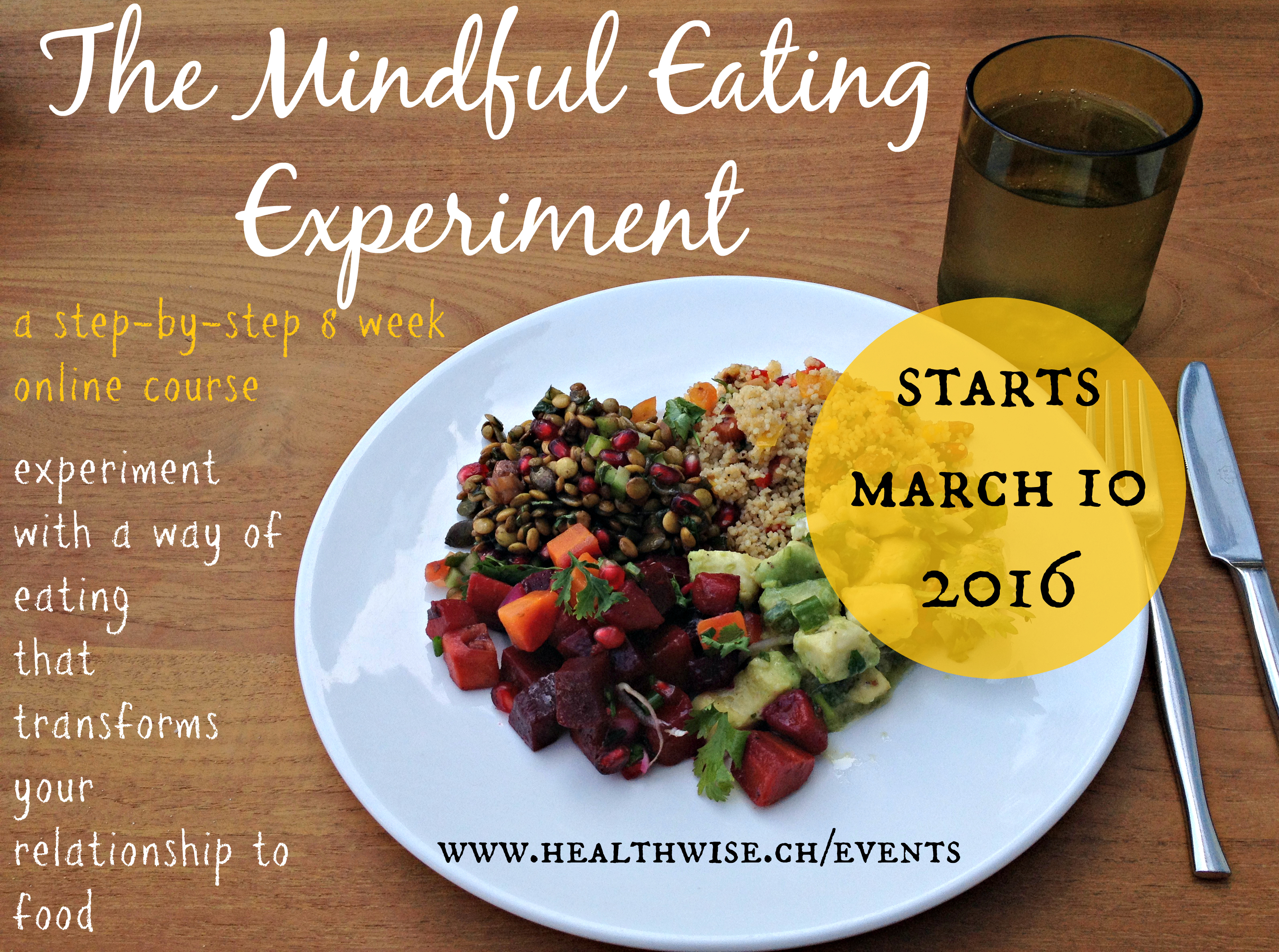 Mindful Eating flyer