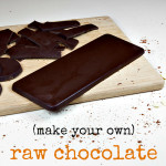 3 Ingredient Raw Chocolate