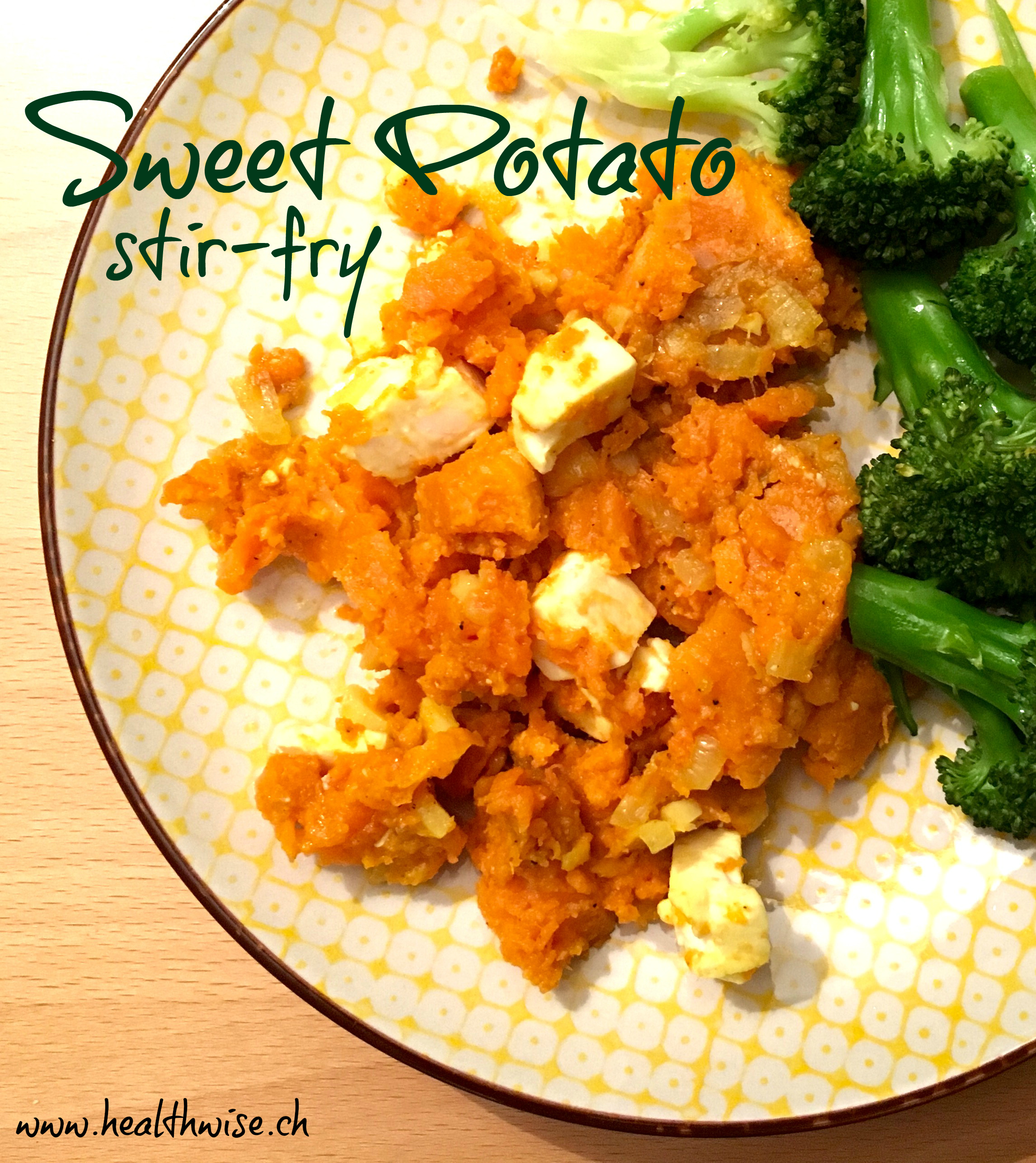 sweet potato stir-fry