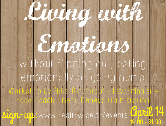 Living with emotions